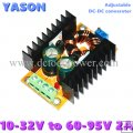 Adjustable DC-DC converter DC(10-32V) to DC(60-95V) 2A